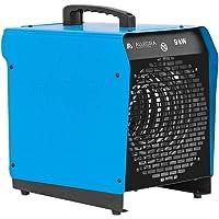 ALLEGRA H91 Heizlüfter 9 KW Elektroheizer Heizgerät Bauheizer mit Thermostat und ca. 1,5m Zuleitung
