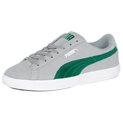 puma archive lite. Puma Archive Lite Low Suede Leather Trainers Grey 8.5 UK S