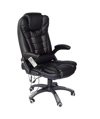 YANGSANJIN High Back Massage Recliner Office Chair,Silla ...