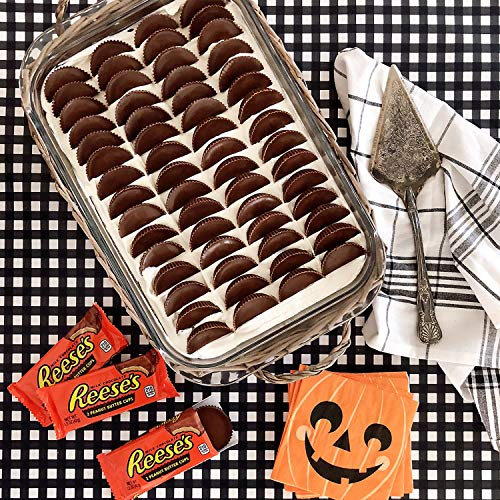 Large Product Image of REESE'S Peanut Butter Cups, Halloween Candy, Chocolate Candy, 1.5 Ounce (Pack of 36)