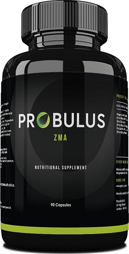 ZMA de Probulus: Mix de MAGNESIO, ZINC Y VITAMINA B6. Reduce del tiempo