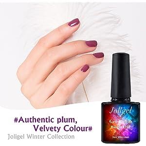 PorLous2019-18 colores de esmalte de uñas, promoción, Frau ...