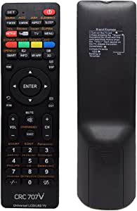 TERSELY Universal LCD/LED/3D Replacement TV Remote, with Netflix YouTube for LCD/LED TV HDTV Remote Controller Samsung/Panasonic/TCL/SANYO, Panasonic, Philips, Prima, Toshiba, Thomson, TCL, etc