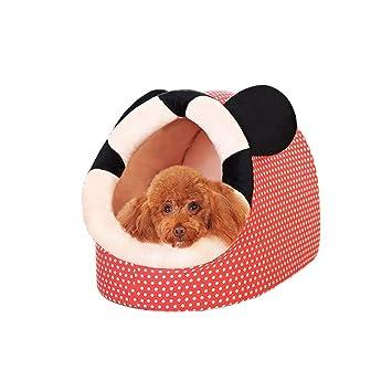 KYCD Caseta para Perro, Yurt de Invierno, Cerrada, para Dormir, para Perros