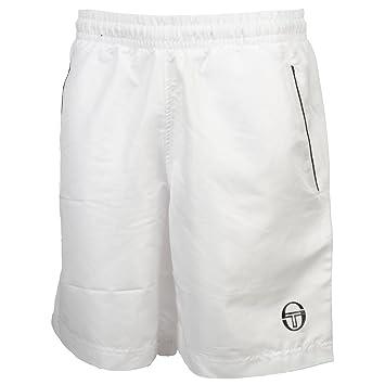 68987eeed3f5 Sergio Tacchini Rob 017 Blanc Short - Short Bermuda - Blanc - Taille ...