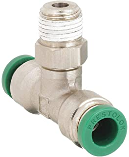 3//16 Tube OD x 1//4 NPT Male Inline Connector Legris 3175 55 14 Nickel-Plated Brass Push-to-Connect Fitting