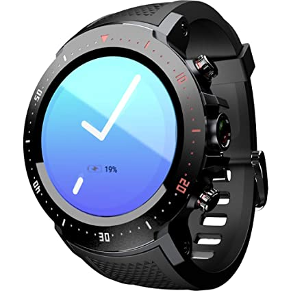 Amazon.com: LOKMAT LK04 4G LTE Smart Watch Phone Android 7.1 ...