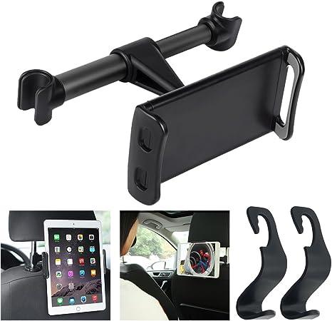 AFUNTA Tablet Phone Mount para el reposacabezas del Coche con 2 ...