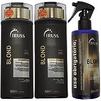 Kit Truss Blond Shampoo 300ml + Condicionador 300ml + Uso Obrigatório Blond 260ml