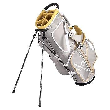 ZXX Bolsa de Golf Beige Hombres y Mujeres Bracket Gun Bag ...