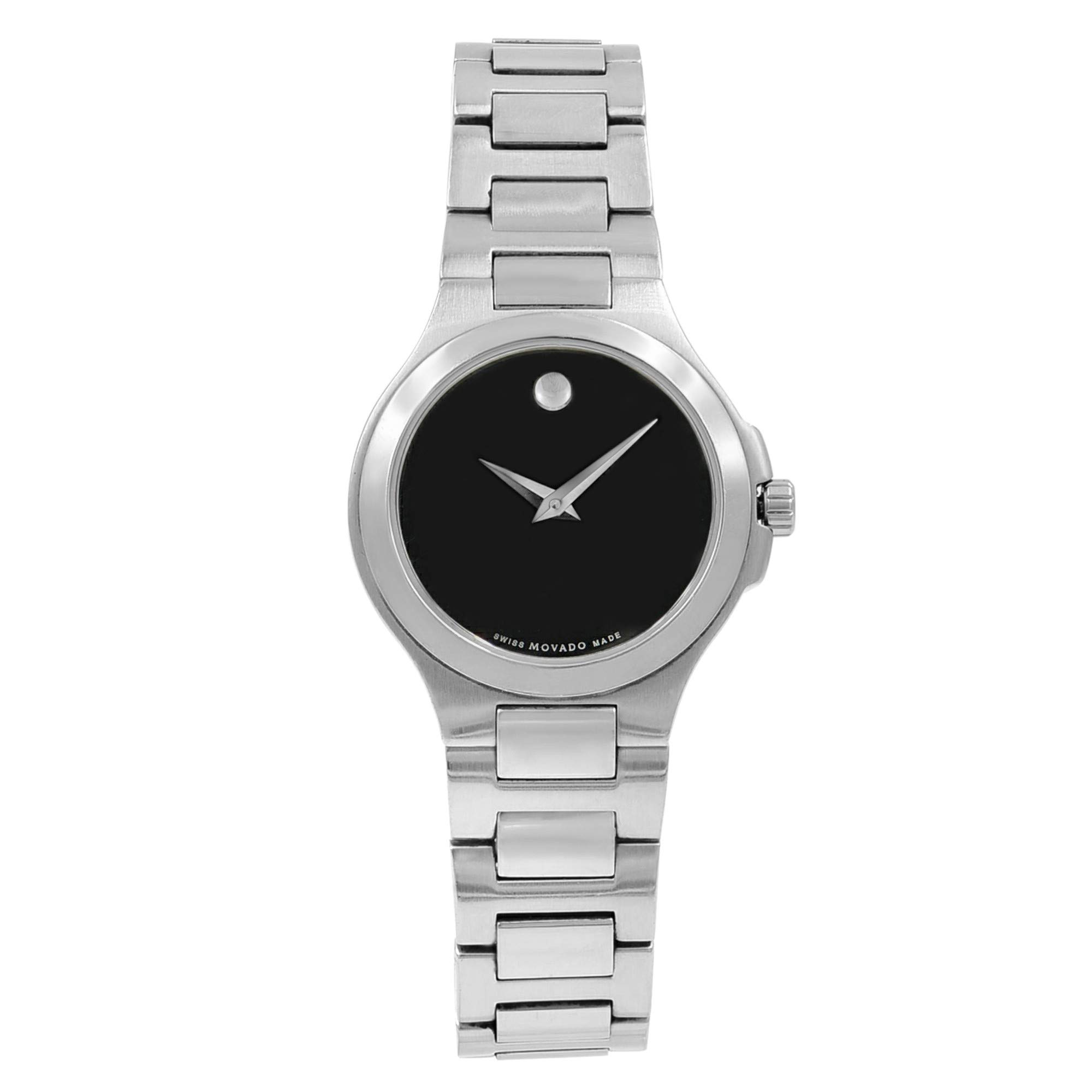 Movado Corporate Quartz Male Watch 0606164 (Certified Pre-Owned)