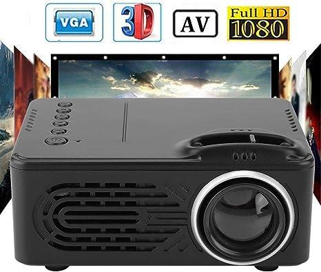 Mini proyector 1080P, 20000h LED 20-80 Pulgadas Pantalla Proyector ...