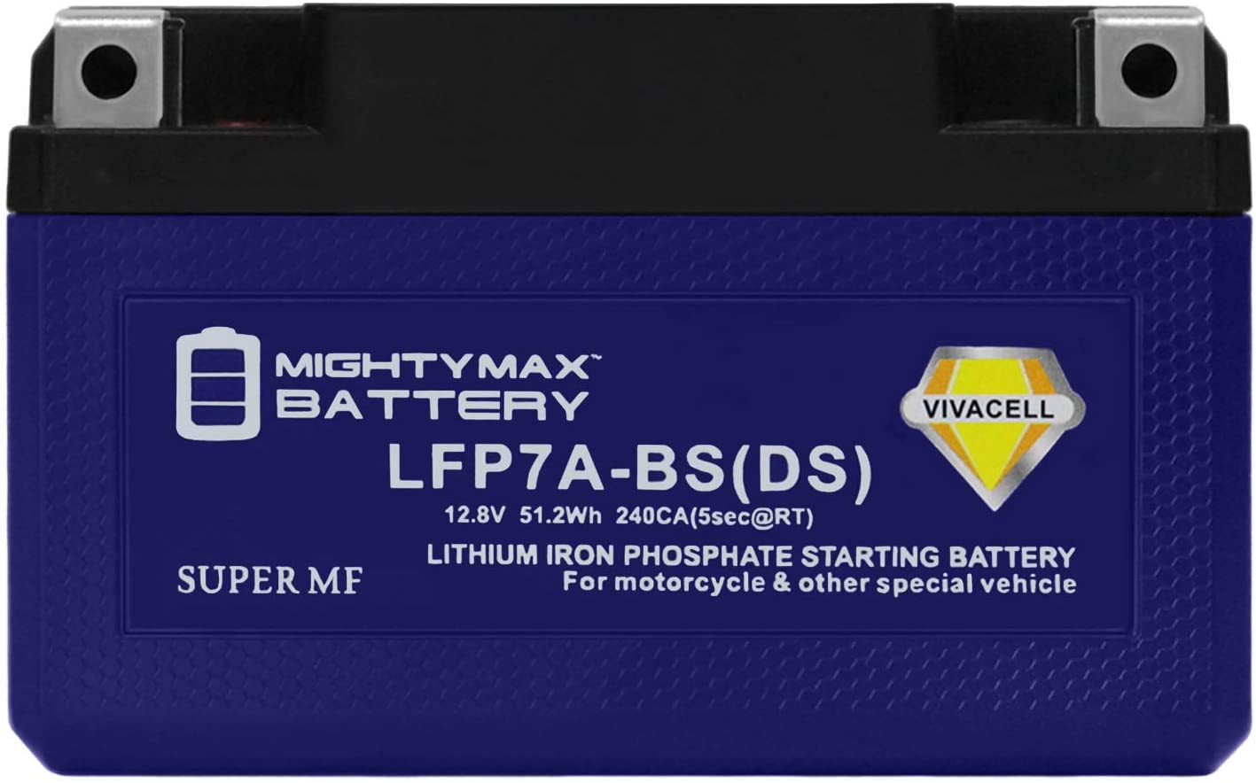 Mighty Max Battery YTX7A-BS Lithium Replacement Battery for Buddy 125 Vino 125 People S Brand Product