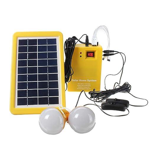 SEESEE.U Cargador de teléfono Solar, Sistema de energía ...