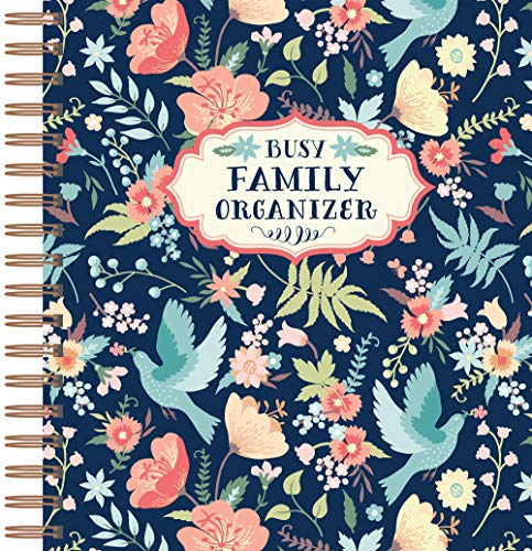 Busy Family Organizer: (Planner, address book and more!)