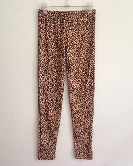 a95e859ec71 Guiran Mujer Strench Push Up Leopardo Estampados Leggins Leggings  Pantalones Skinny Talla única: Amazon.es: Deportes y aire libre