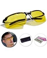 REGEASS/サングラス UV400 偏光レンズ REGEASS/ロゴ入りクロス&ケース 3点セット