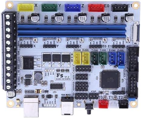 Baoblaze - Placa controladora de Placa Base para Impresora 3D MKS ...