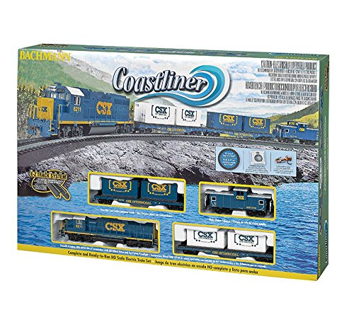 Bachmann HO Scale Train Set Analog Coastliner 00734
