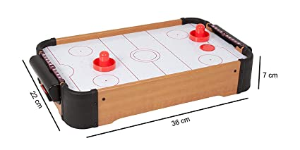 Buy Domenico Fantasy India Kid S Wooden Indoor Mini Air Hockey Game