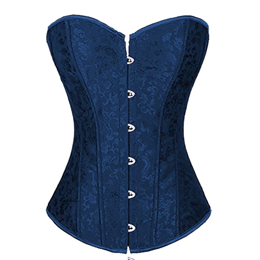 Lover-Beauty Damen Top Korsage Lace Up Corsage AL4241