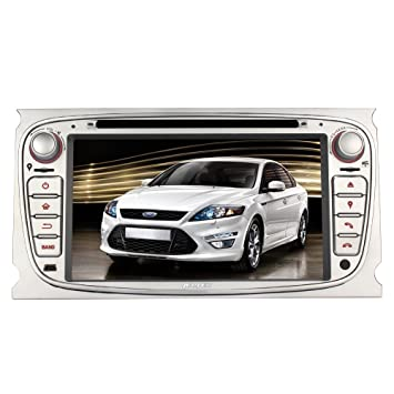 Pumpkin Double Din Car Stereo for Ford Focus Mondeo S-max Galaxy with Free  Map 9cba4f80936b