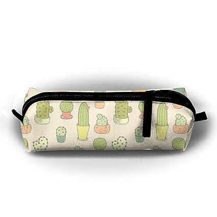 amazon com cactus pattern tumblr printed pencil case pen bag