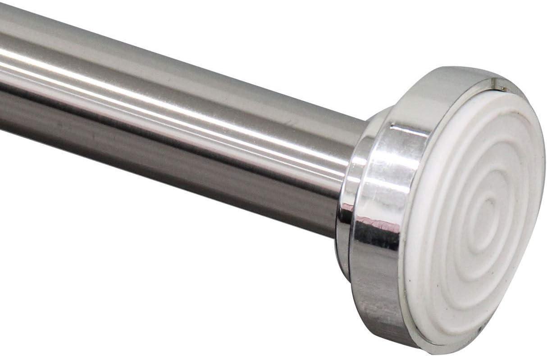 Barra telescópica para Cortina de Ducha de 125 a 220 cm, Safekom, no Requiere Herramientas para su instalación