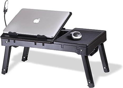 Soporte para portátil con Ventilador de refrigeración & – Luz LED ...