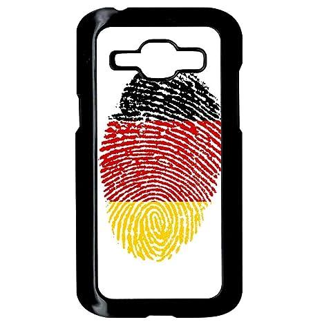 Carcasa Samsung Galaxy J1 huella dactilar bandera de ...