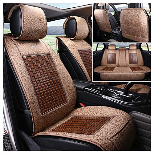 (Automotive Seat Cushions Car seat Cushion Waterproof Universal car seat Cover Bamboo Material Good Breathability and Comfort Suitable for Most Models Environmentally Friendly and Tasteless)