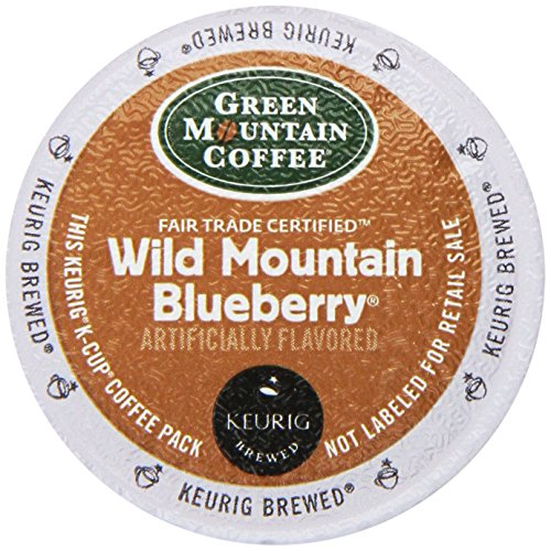 Green Mountain Coffee K-Cup, Wild Mountain Blueberry, 12-Count ()