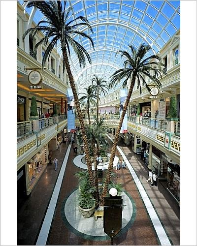 Photographic Print of Shopping mall at The Trafford Centre, Manchester, England, United - Mall Manchester Shopping