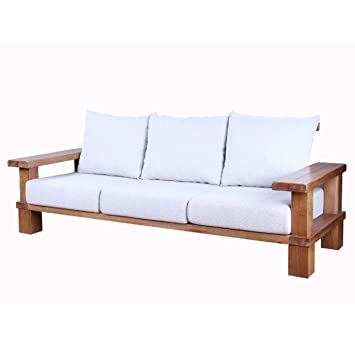 Pure Solid Holz Eiche Sofa Stoff Sofa Kombination Minimalistischen