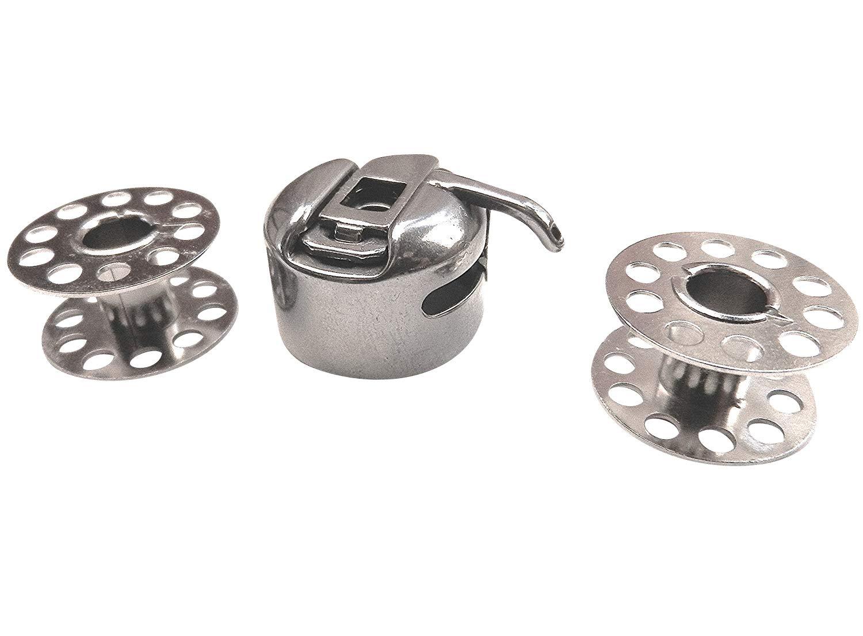 ZickZackNaehmaschine Canette M/étal et 2/bobines bobines pour machine /à coudre Necchi 559