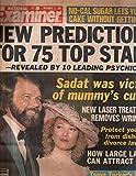 National Examiner 1981 Nov 17 Tanya Tucker,Glen Campell