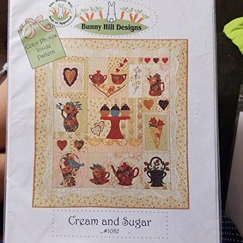 bunny hill designs pattern cream and sugar