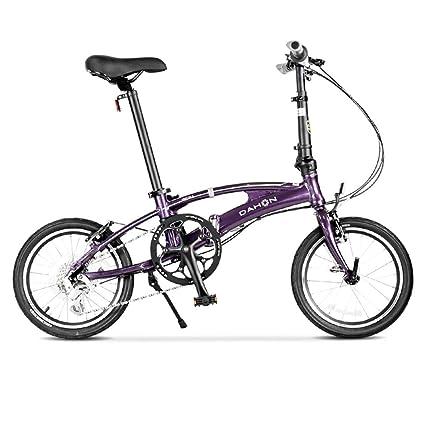 Bicicleta plegable velocidad maxima