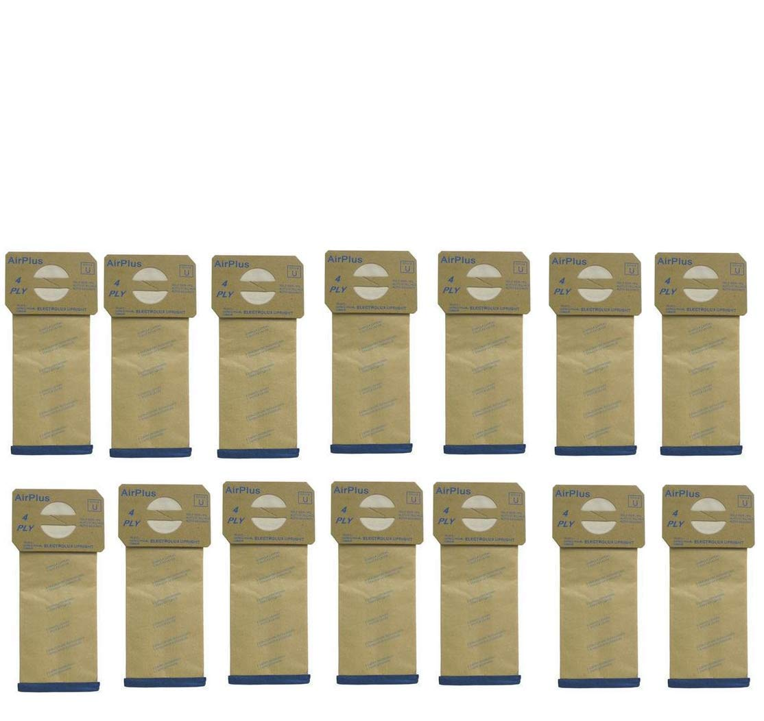DVC Products Replacement for Electrolux Upright Micro-Lined Vacuum Cleaner Bags. Case of 100