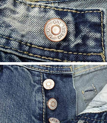 Los Skinny De Hombres Casual Leisure Jeans Retro Straight Pantalones Cher Flacos De Mezclilla De Rasgados Fit Azul Slim Pantalones Algodón Vaqueros Pantalones ZwqEE0A