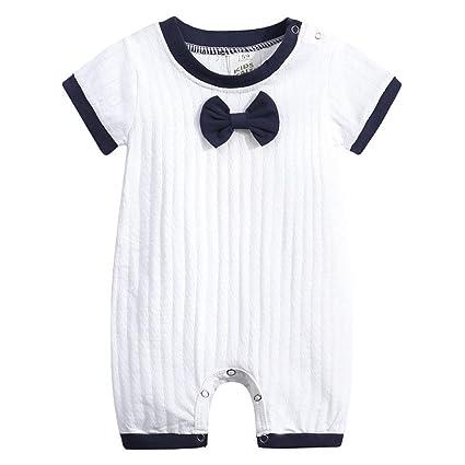 64a770021 Amazon.com  Newborn Short Sleeve Romper