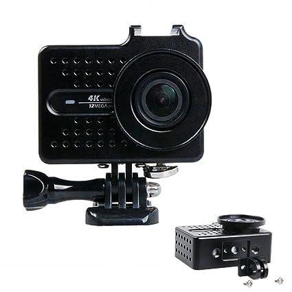 Carcasa para cámaras de acción Xiaomi Yi 4k Xiao Yi 2 con accesorios y filtro de UV