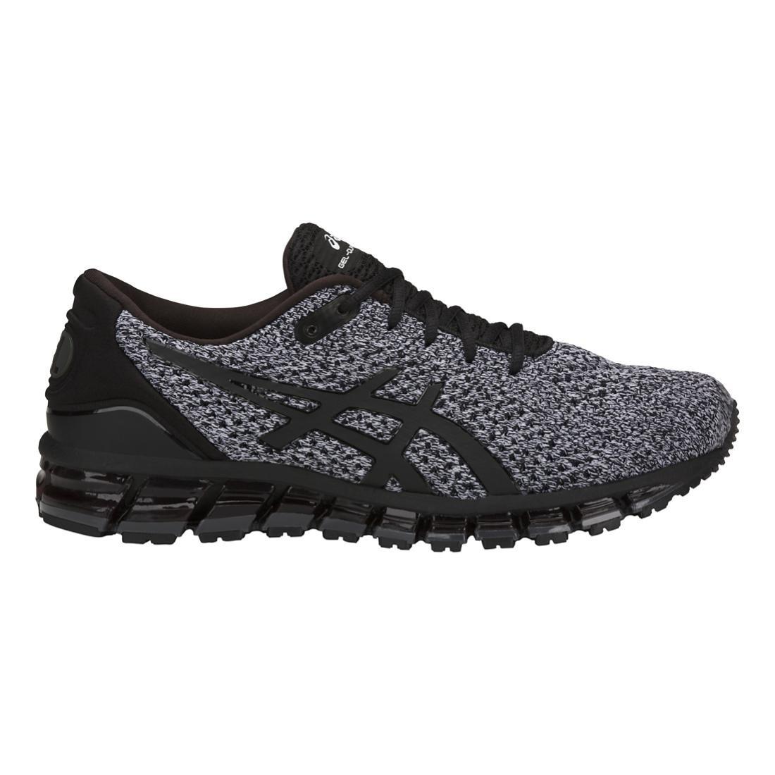 Gel-Quantum 360 Knit Men's Running Shoe B077H2ZCYX 7.5 D(M) US|Black/White/Black