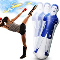 Shangle-sunshine Opblaasbare Voetbal Dummy Goalkeepr Air Mannequin Gratis Kick Defender Muur Voetbal Praktijk Tumbler…