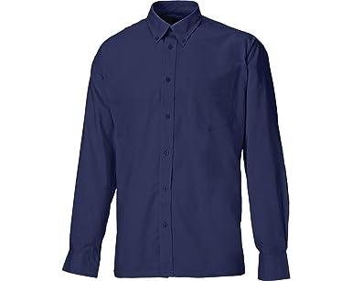 Dickies SH64200-NB-17 Oxford - Camisa de manga larga (talla 17), color azul marino: Amazon.es: Industria, empresas y ciencia