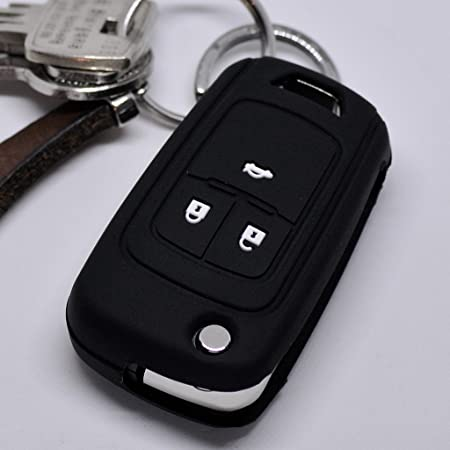 Soft Case Silikon Auto Schlüssel Schutz Hülle Schwarz Elektronik