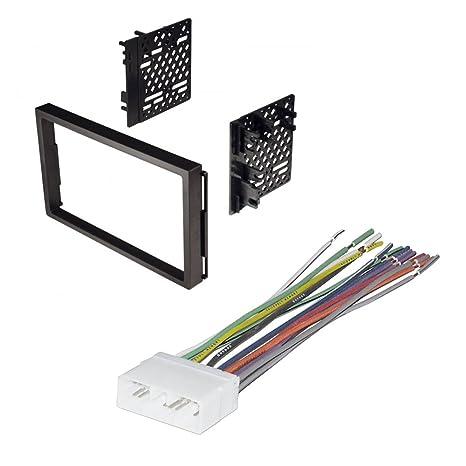 amazon com car stereo radio kit dash installation mounting trim