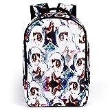 AIZHE Kids' Book Backpacks Children's Schoolbag Teenager 3D Cartoon School Bookbag And Colorful Travel Daypack(Angel) For Sale