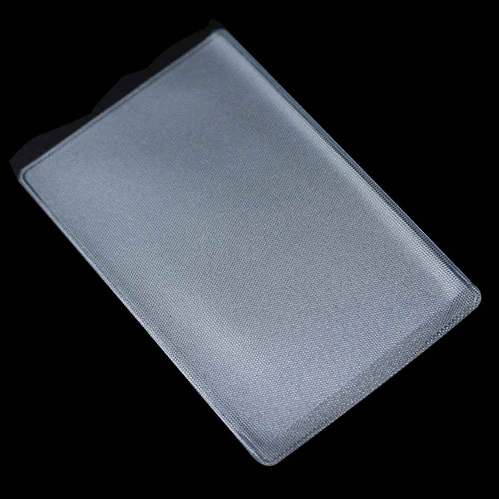 Matte Clear ID Credit Business Card Soft Plastic Bags Sleeves Protector Holder Wrapping Bus Dust Proof Waterproof Type Office Supplies Identification Badges Holders 6x9.6cm (2.4x3.8 inch) (600 Pieces) by BAT Pack (Image #4)