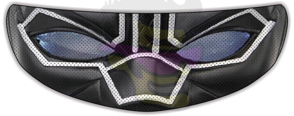 Black Panther Helmet Visor Sticker Motorcycle Biker Shield Decal Tint Eyes by Shopena.com